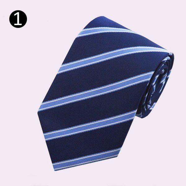 Kamalife Multi Stripes Polyester Necktie