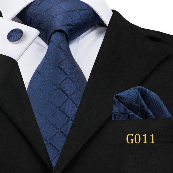 Kamalife Navy Printed Silk Necktie