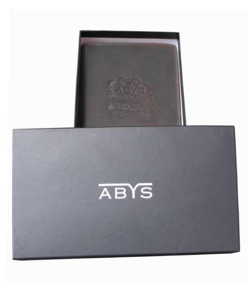 ABYS Brown Wallet