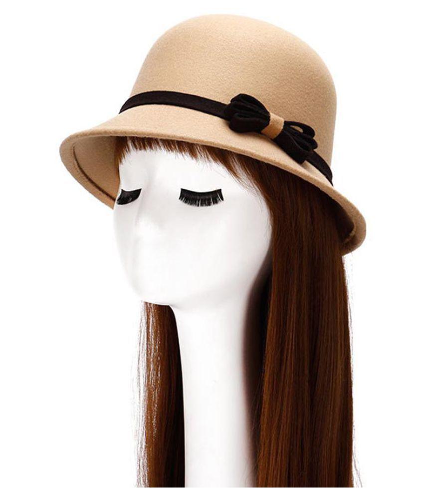 Generic beige Wool Hats