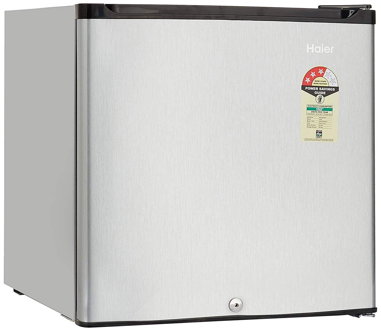 Haier 52 Ltr Mini Refrigerator Silver Hr 62hp Hr 62vs
