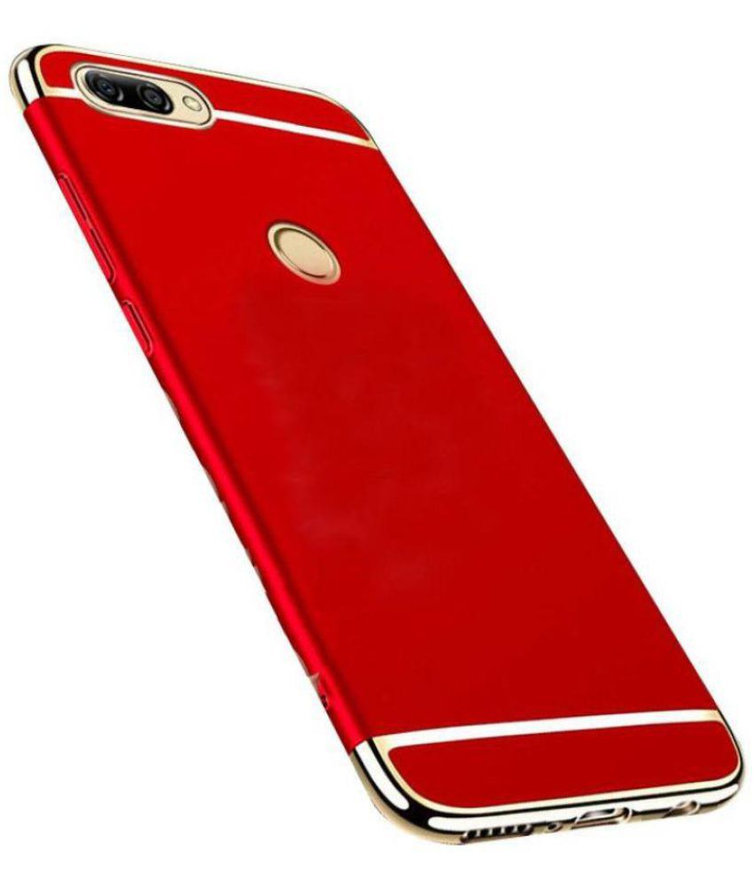 finest selection 57206 9601c Mi 6 Plain Cases QuikDeal - Red Ultra-Thin Back Cover is Only 0.9mm