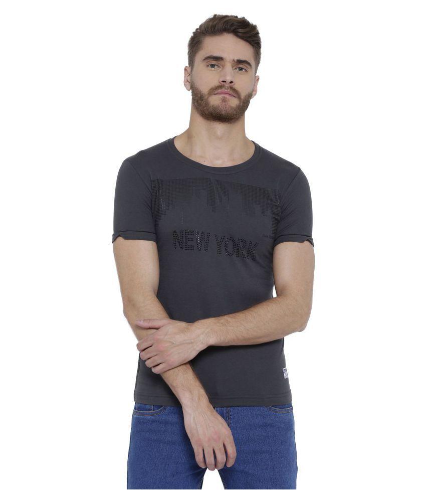 Duke Black Half Sleeve T-Shirt