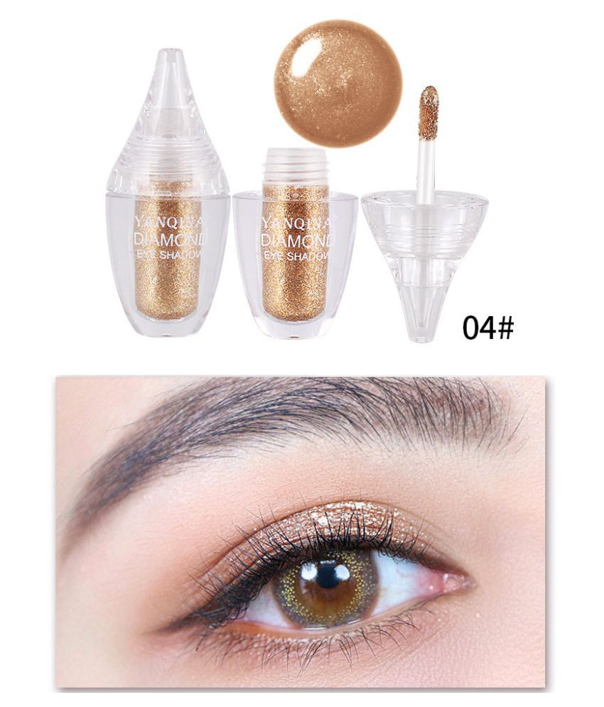81fe316fecce Levaso 1 PC Eye Makeup Women Girls Eye Shadow Liquid Colours 10 ml ...