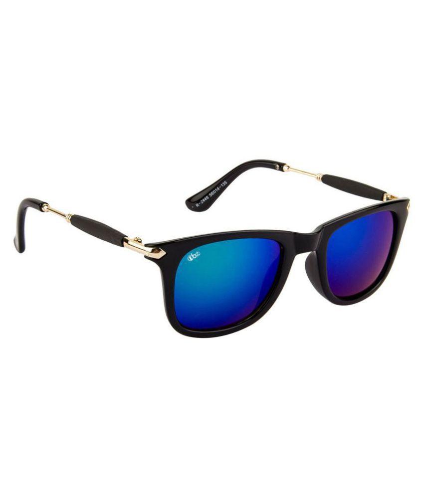 TBZ Blue Wayfarer Sunglasses ( SG-WFRTMUR )