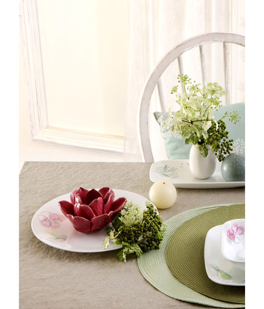 Corelle 21-PM Glass Dinner Set of 21 Pieces