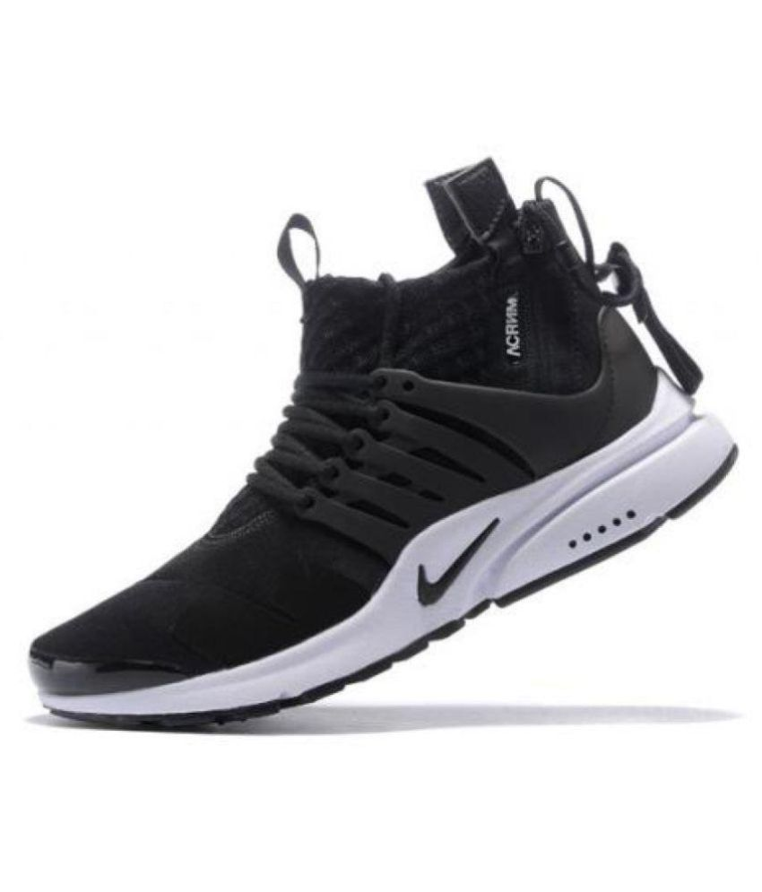 wholesale dealer 343bf 1676c Nike Air Presto Acronym Black Running Shoes - Buy Nike Air Presto Acronym  Black Running Shoes Online at Best Prices in India on Snapdeal