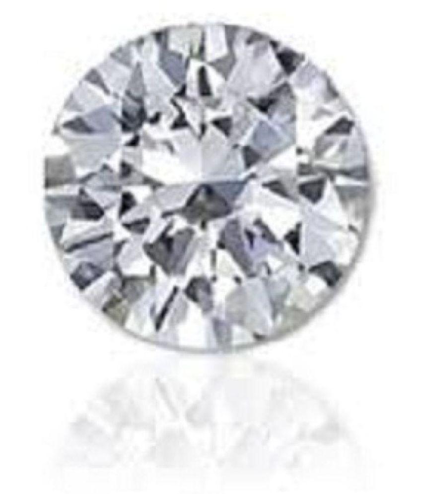 The Gallery 7.75 -Ratti IGL Silver Zircon Precious Gemstone