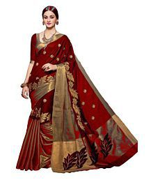 311b14bde7598c Cotton Saree: Buy Cotton Saree Online in India at Low Prices - Snapdeal