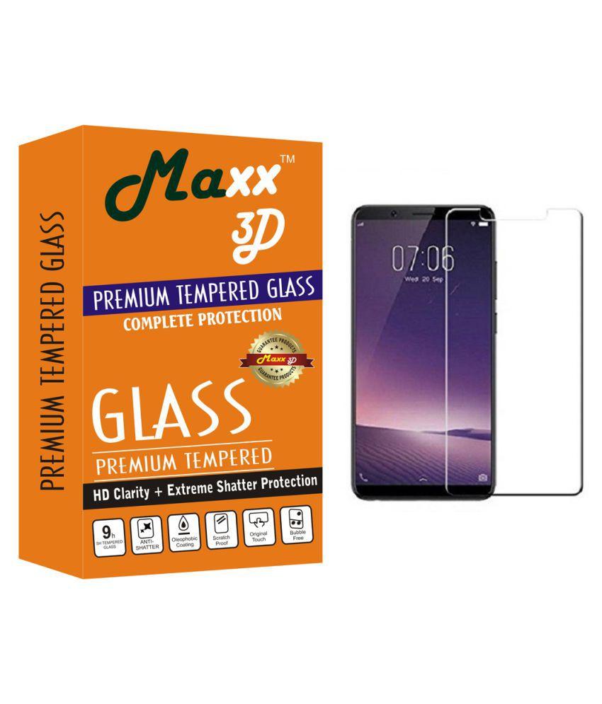 Vivo V7   Tempered Glass Screen Guard By MAXX3D