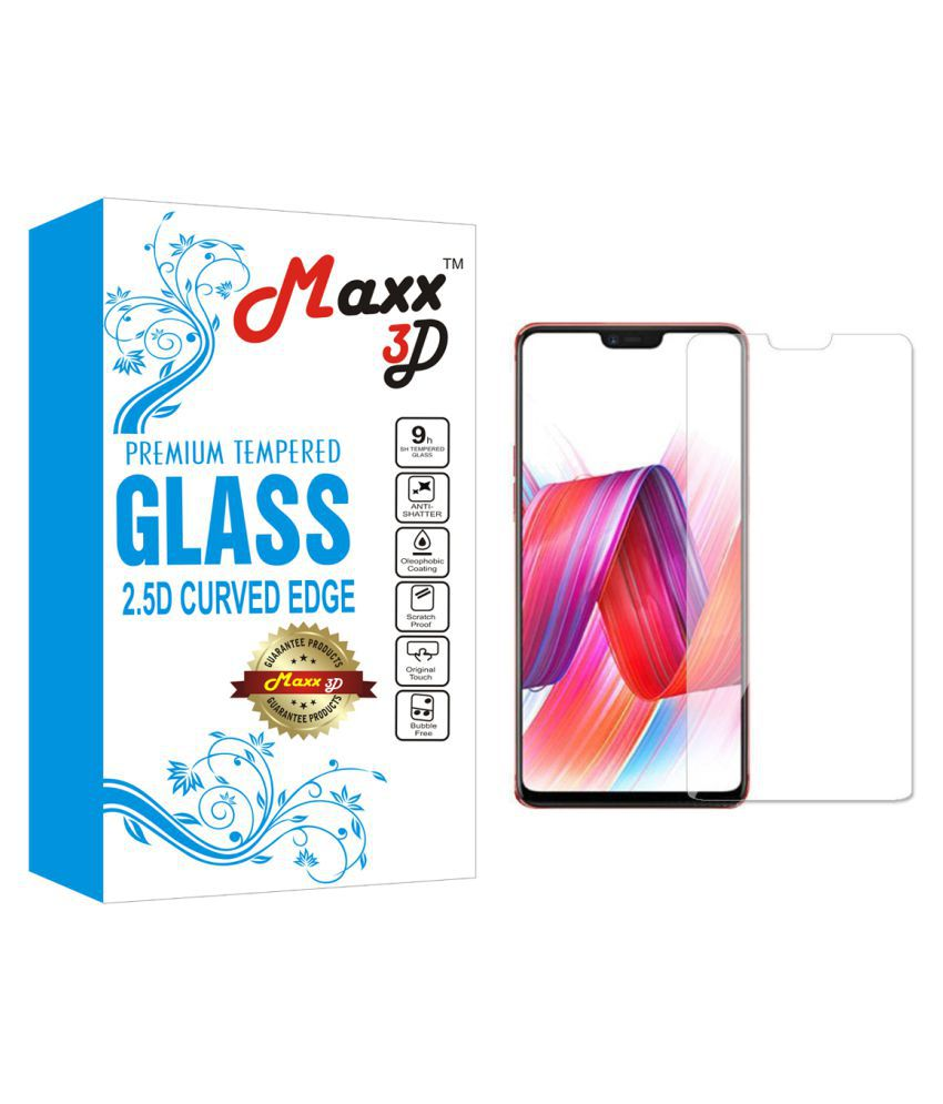 Vivo V9 Tempered Glass Screen Guard By MAXX3D