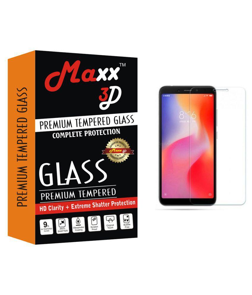 Xiaomi Redmi 6A Tempered Glass Screen Guard By MAXX3D