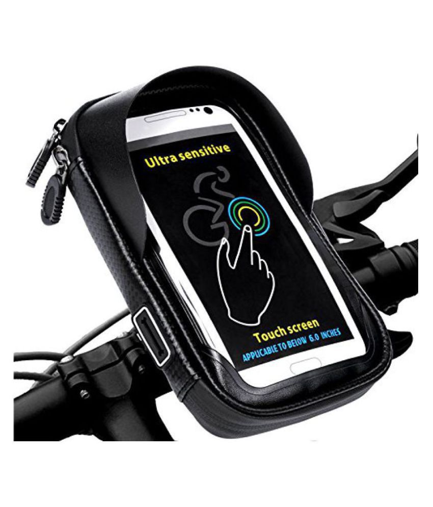 the latest 1e811 31bda 6.0 inch Waterproof Bicycle Motorcycle Bicycle Phone Case Holder Mount for  Samsung Galaxy S8 Plus/iPhone 7 Plus By Aeoss