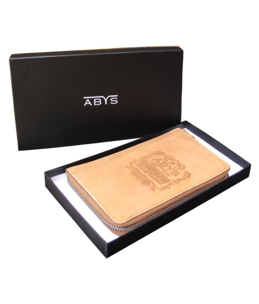 ABYS Tan Wallet
