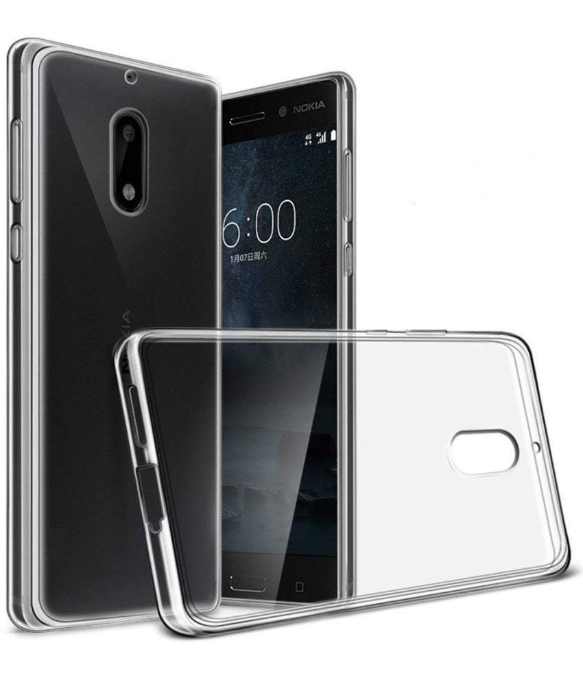 Nokia 6 Soft Silicon Cases Galaxy Plus - Transparent