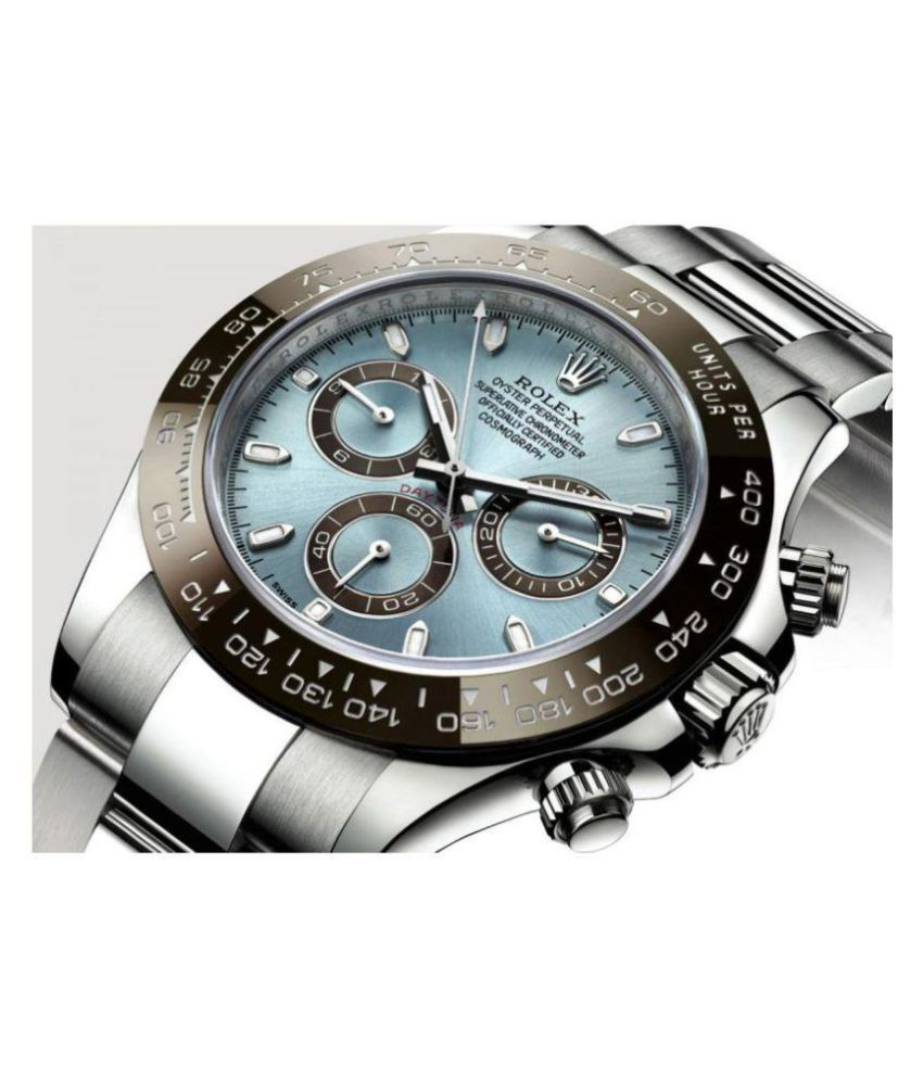 24f6e01453d Shop In Style Oyster Stainless Steel Chronograph Men's Watch - Buy Shop In  Style Oyster Stainless Steel Chronograph Men's Watch Online at Best Prices  in ...