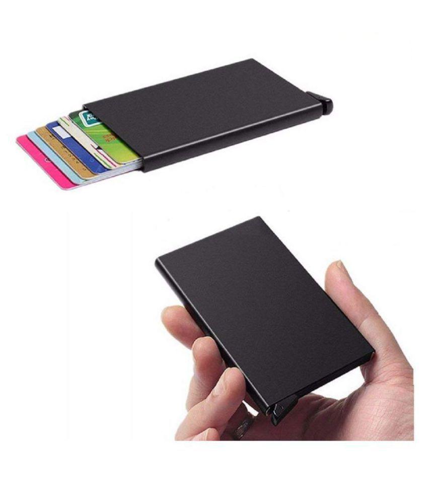 credit debit atm cards wallet rfid blocking aluminum automatic pop rh snapdeal com