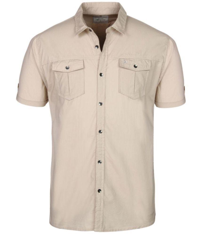 Woodland Cotton Blend Shirt
