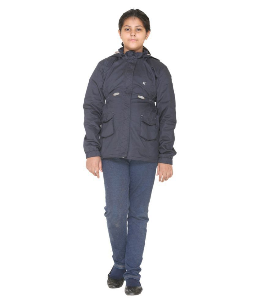 3666e301e Bana Clothing Girls Navy Jacket with Hood - Buy Bana Clothing Girls ...