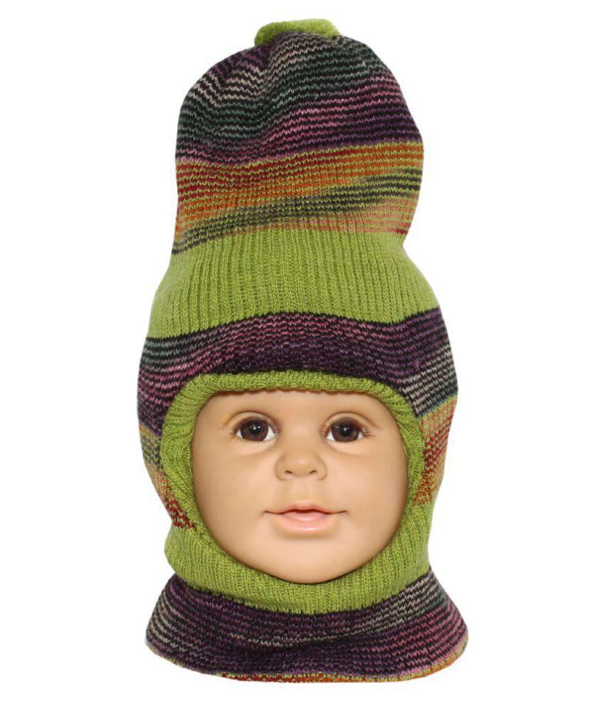 Goodluck Boys Winter Wollen Cap For Kids