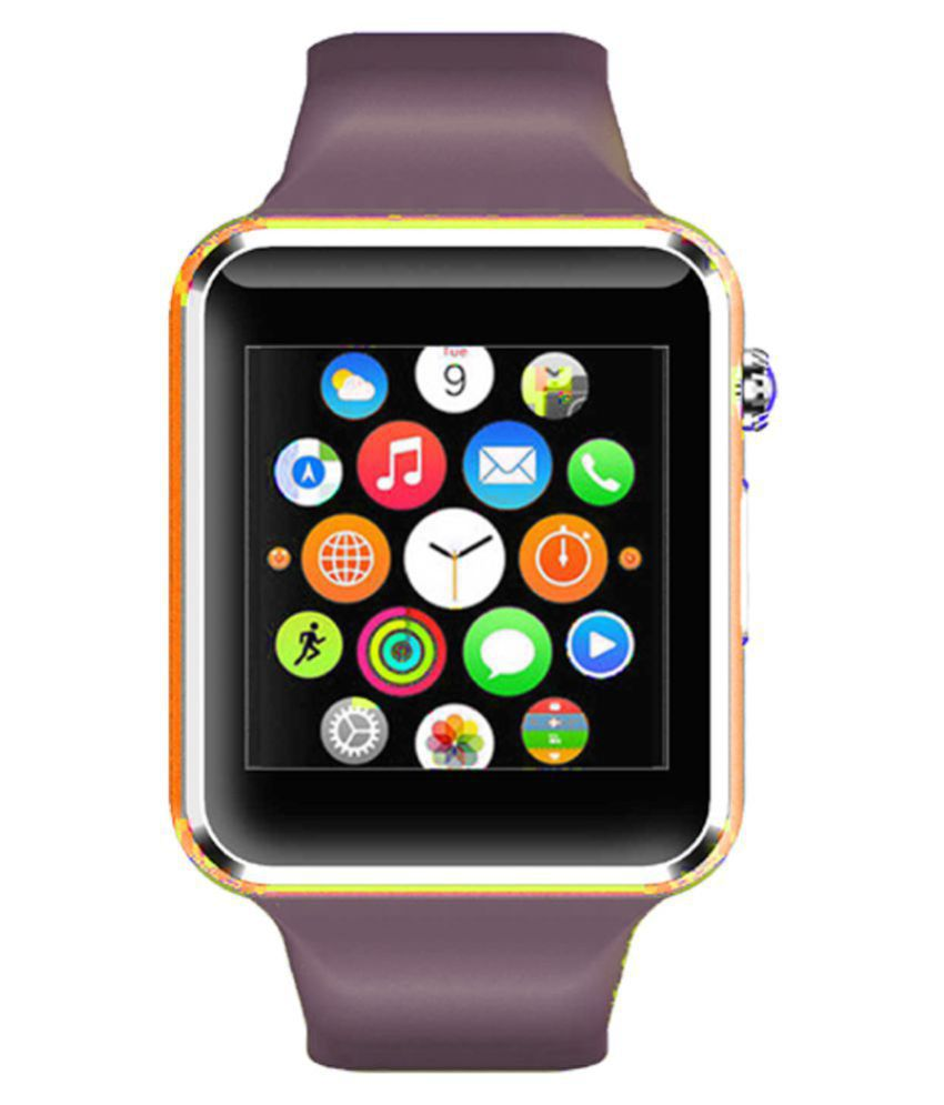 WOKIT Smartwatch Suited iBall Andi 4Di Plus A1 Golden Smart Watches