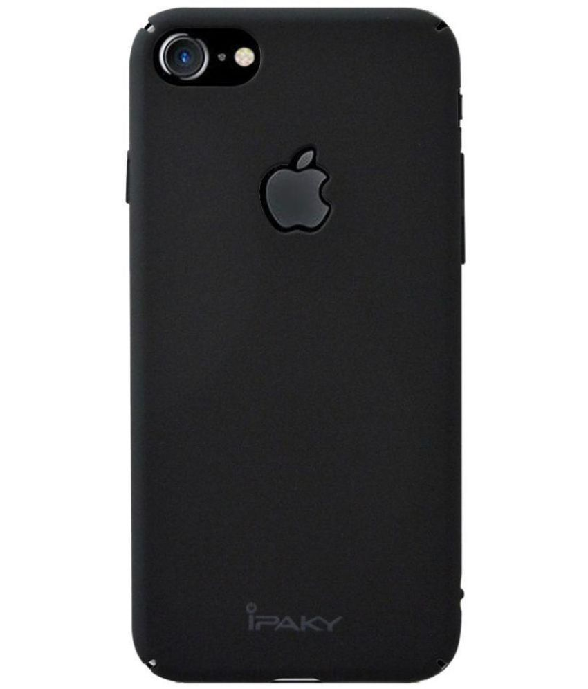 new styles ba50f b7a8d Apple iPhone 7 Plain Cases Coverage - Black