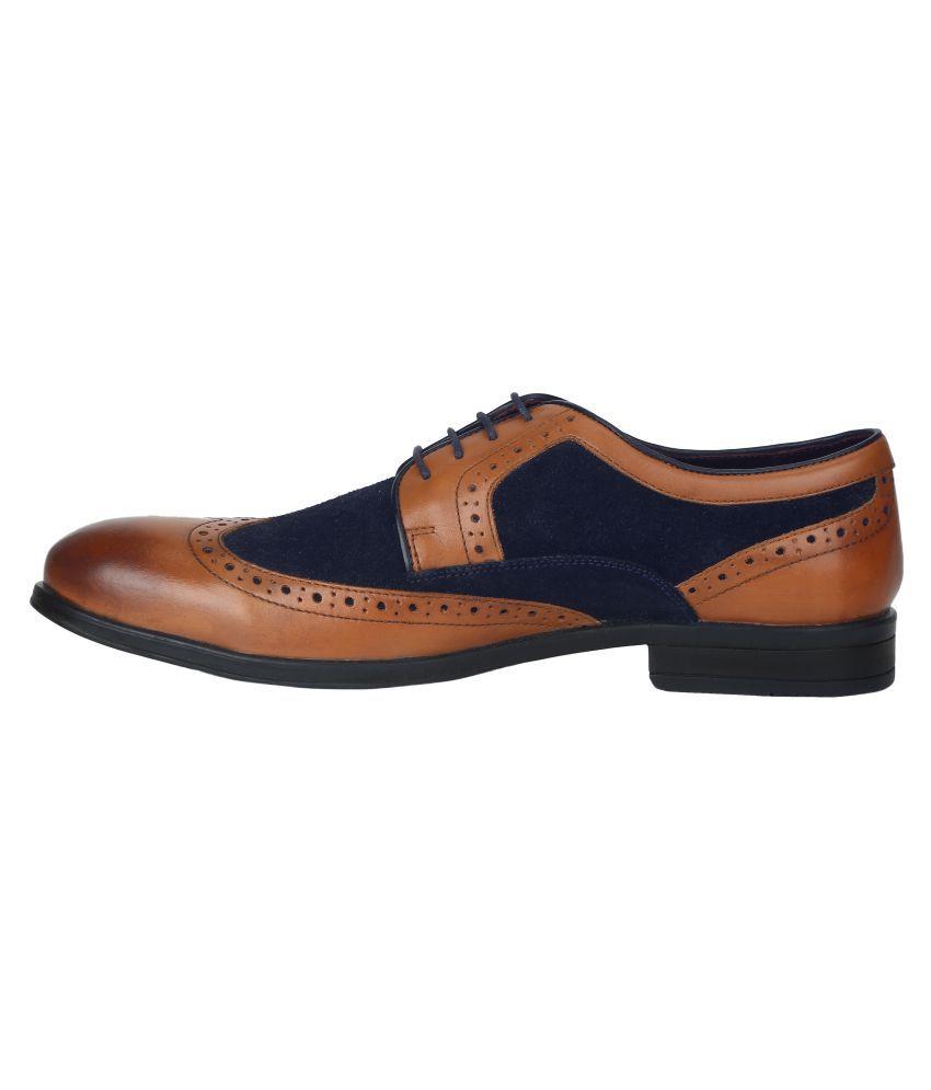 4bec53634c12f2 Park Avenue Tan Formal Shoes Price in India- Buy Park Avenue Tan ...