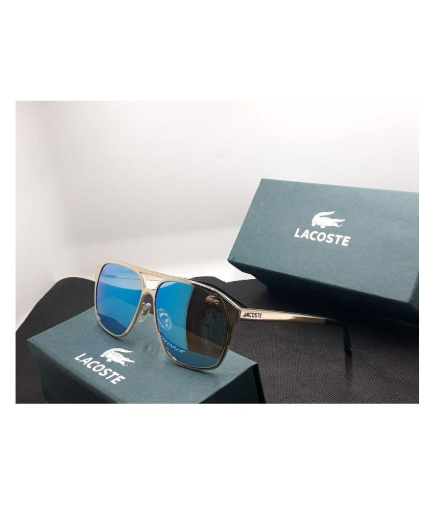 fd34766393 LACOSTE SUNGlASS Blue Square Sunglasses ( L134 ) - Buy LACOSTE SUNGlASS Blue  Square Sunglasses ( L134 ) Online at Low Price - Snapdeal
