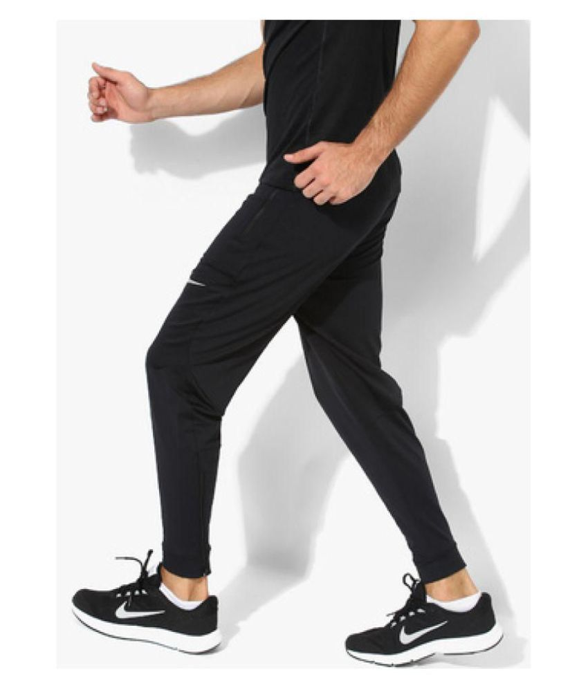 Nike As Dry Phnm Black Running Track Pants - Buy Nike As Dry Phnm ... bb9c6beaab26