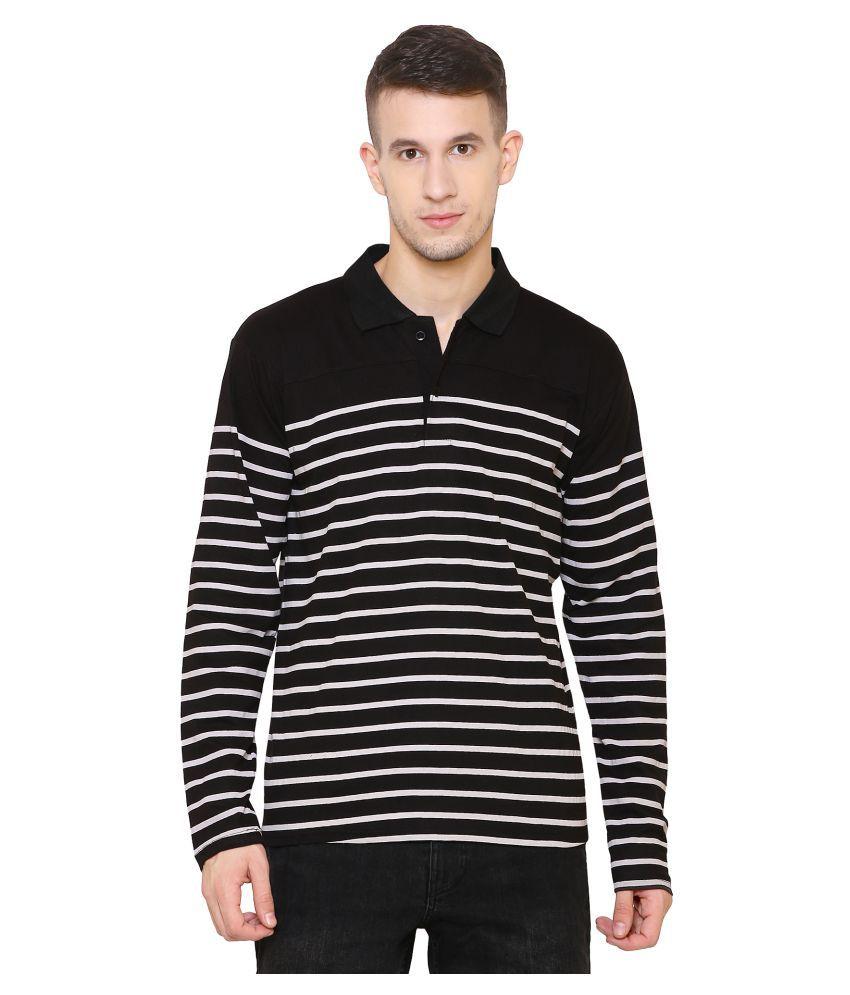 SCATCHITE Black Full Sleeve T-Shirt