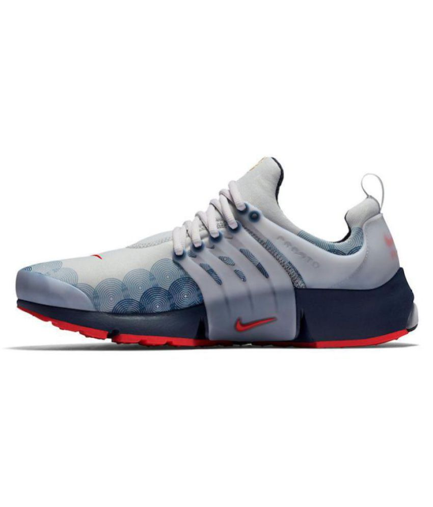 79e7ab8161b72 Nike Air Presto U.S.A. White Running Shoes - Buy Nike Air Presto U.S.A. White  Running Shoes Online at Best Prices in India on Snapdeal