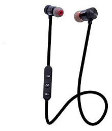 Forever MNGT-FR-21 In Ear Magnetic Neckband Wireless Handsfree Earphones Bluetooth headphone With Mic-Multicolor