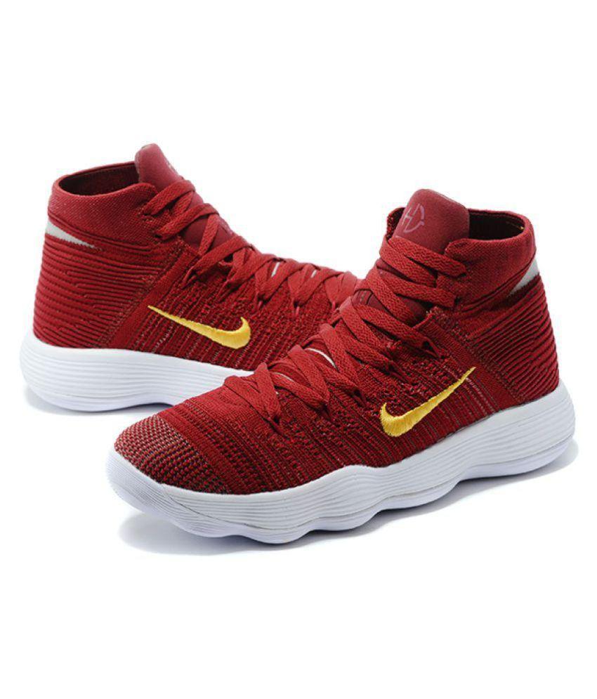 the latest de6cd c70ed Nike HYPERDUNK 2018 FLYKNIT Red Basketball Shoes - Buy Nike ...