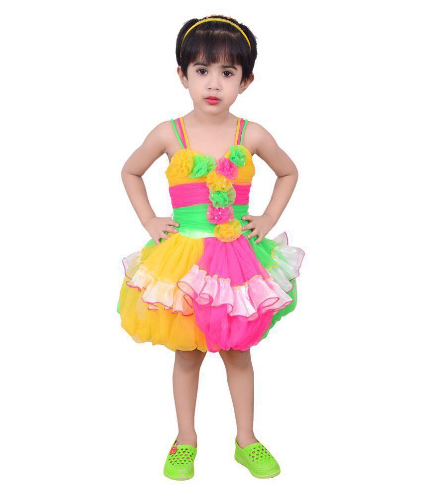 59c19a7ec817 Safina Collection Baby Girl Cute Designer Net Frock… - Buy Safina ...