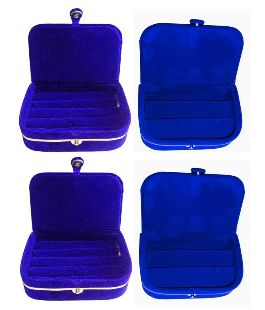 Shivansh Traders Combo of 2 pcs earEar ring folder and 2 pcs Ear ring jewelry box