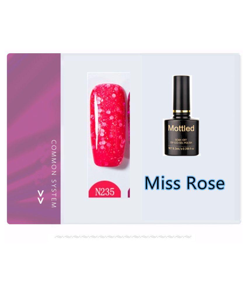 Miss Rose Nail Polish As Picure Glossy 35g gm