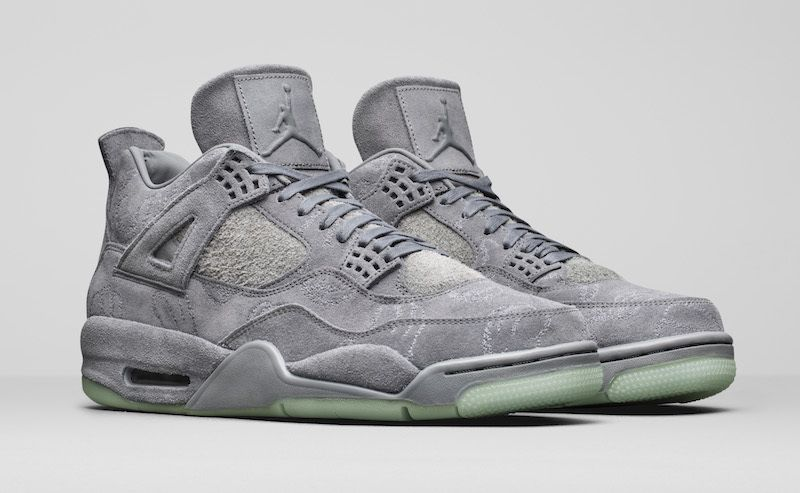 3524d32eb2a72a Nike AIR Jordan 4 Kaws Gray Basketball Shoes - Buy Nike AIR Jordan 4 Kaws  Gray Basketball Shoes Online at Best Prices in India on Snapdeal