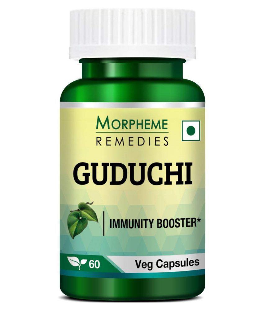 Morpheme Remedies Guduchi (Tinospora Cordifolia) 500mg Extract -   Capsule 60 no.s