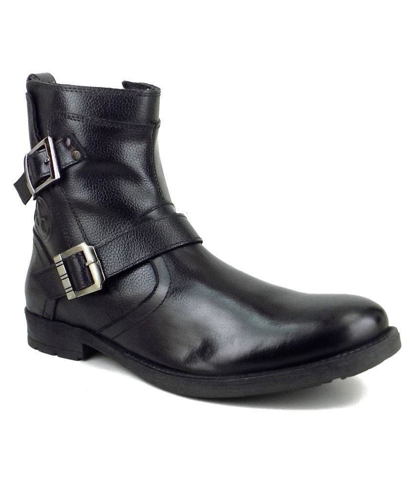 Ripley Black Formal Boot