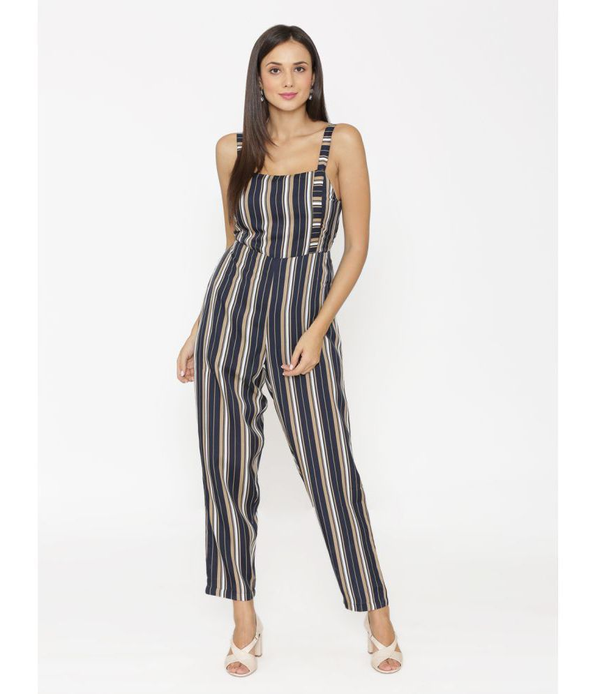ff55c29666f9 Eyelet Blue Crepe Jumpsuit - Buy Eyelet Blue Crepe Jumpsuit Online at Best  Prices in India on Snapdeal