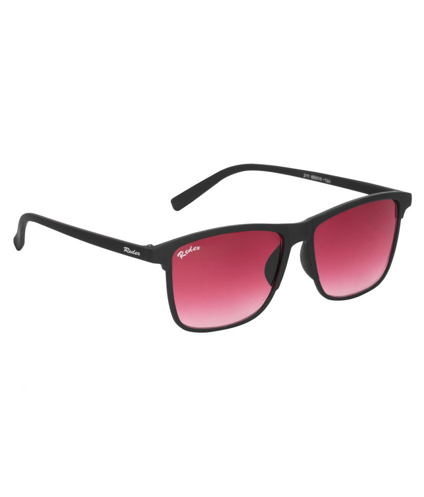 c8181b85006 Redex Red Wayfarer Sunglasses ( 1073 ) - Buy Redex Red Wayfarer Sunglasses  ( 1073 ) Online at Low Price - Snapdeal
