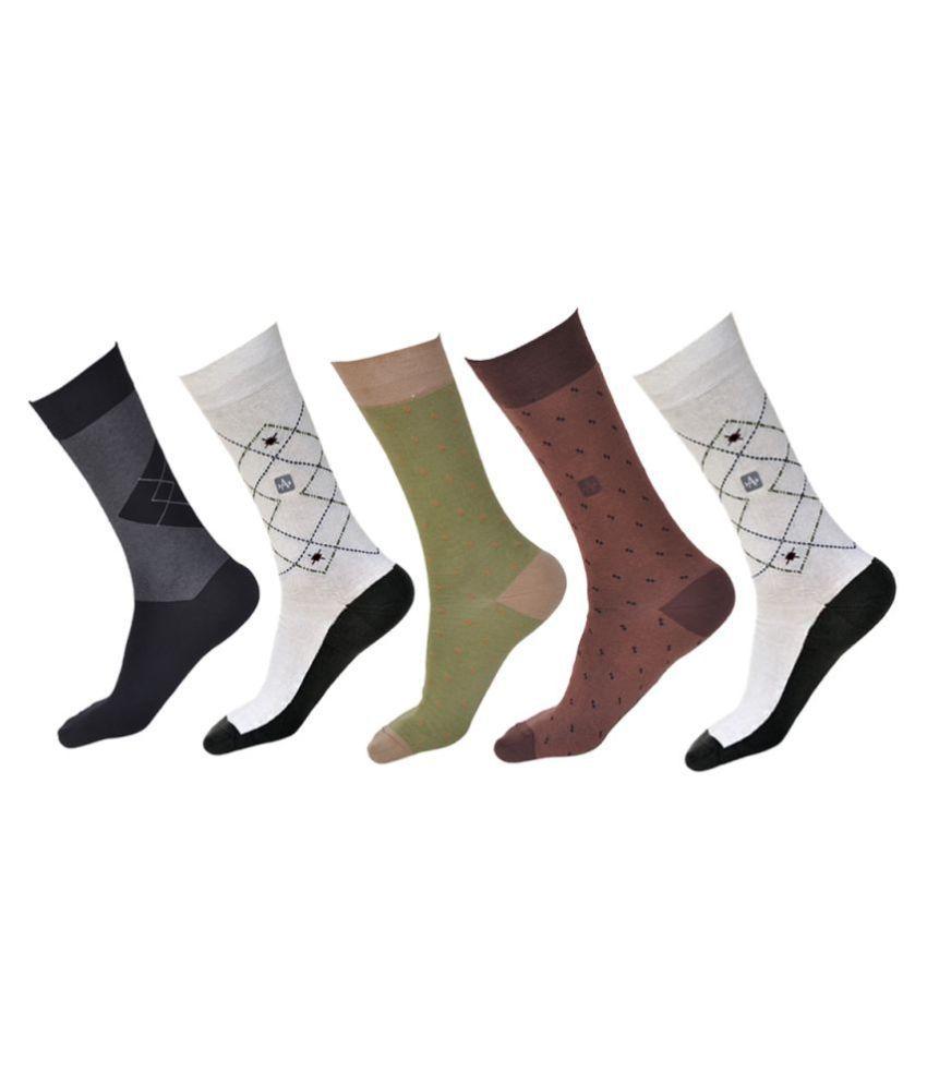 Arrow Multi Formal Full Length Socks