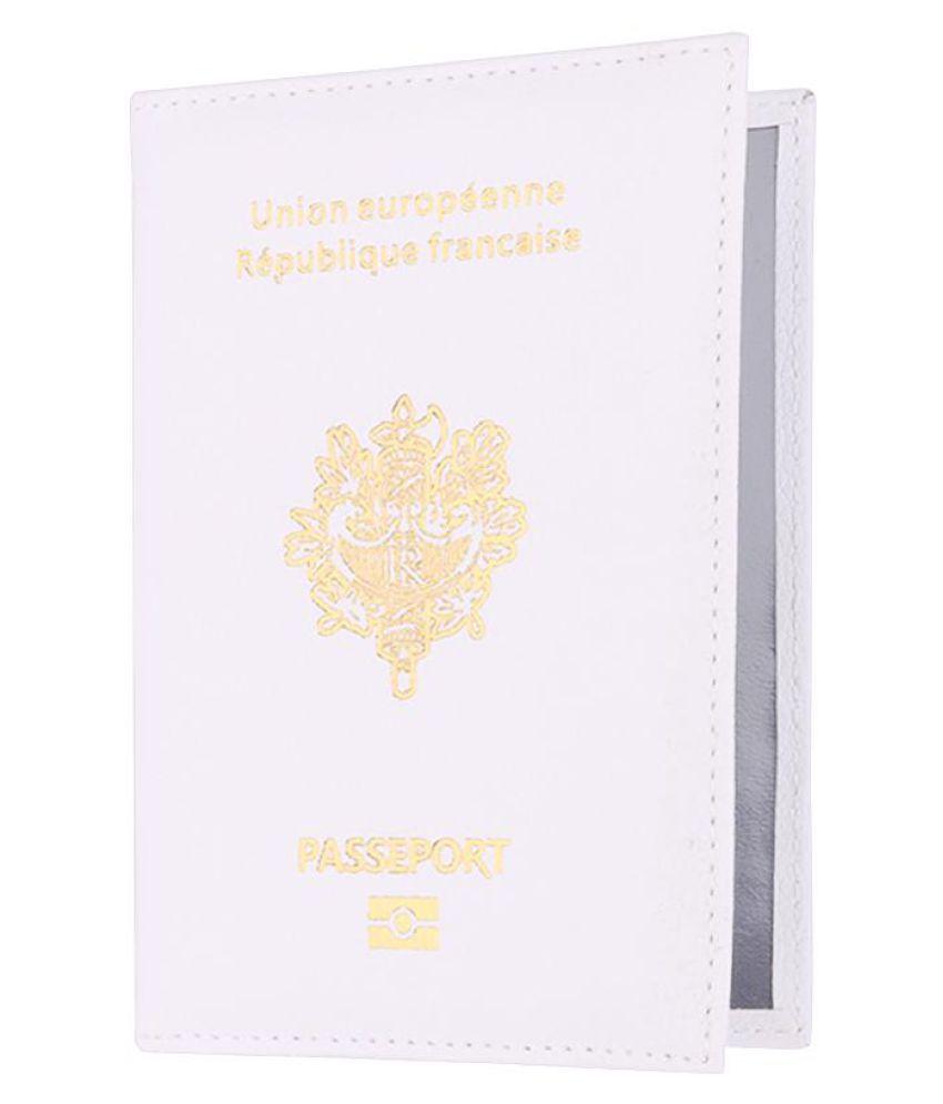 Generic white Passport Holder - 1 Pc