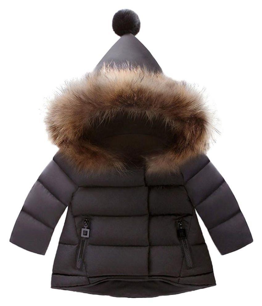 8e9a0c52b Newborn Baby Girls Boys Fashion Long Sleeve Winter Outdoor Zippered ...