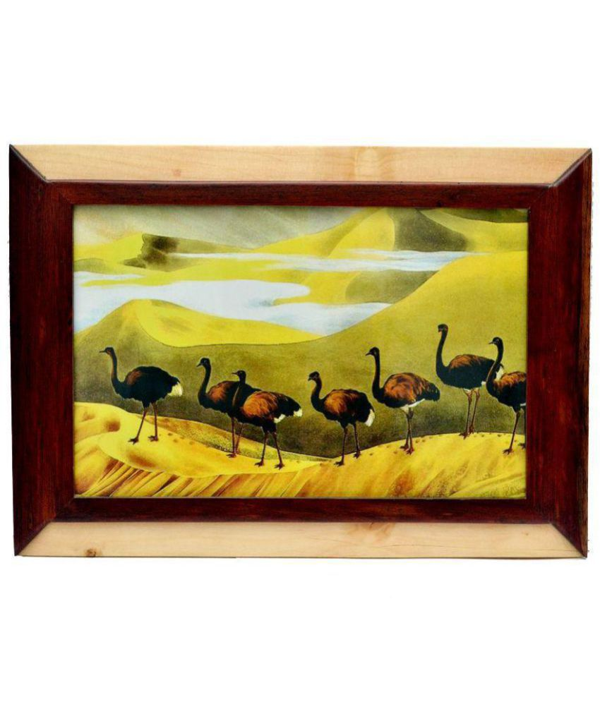 Just Frames Wood Wall Hanging Multicolour Single Photo Frame - Pack of 1