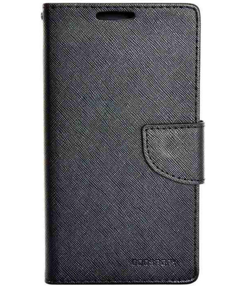 Samsung Galaxy Star Pro Flip Cover by Doyen Creations - Black Premium Mercury