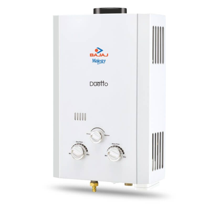 bajaj majesty duetto gas water heater lpg