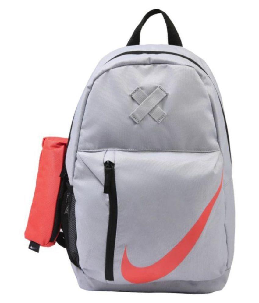 0fa1f46d6de207 Nike Grey Y Elemental Backpack - Buy Nike Grey Y Elemental Backpack Online  at Low Price - Snapdeal