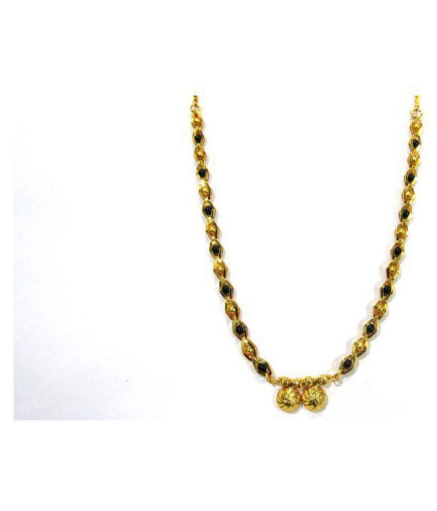 Golden Black Beads new fashion Mangalsutra