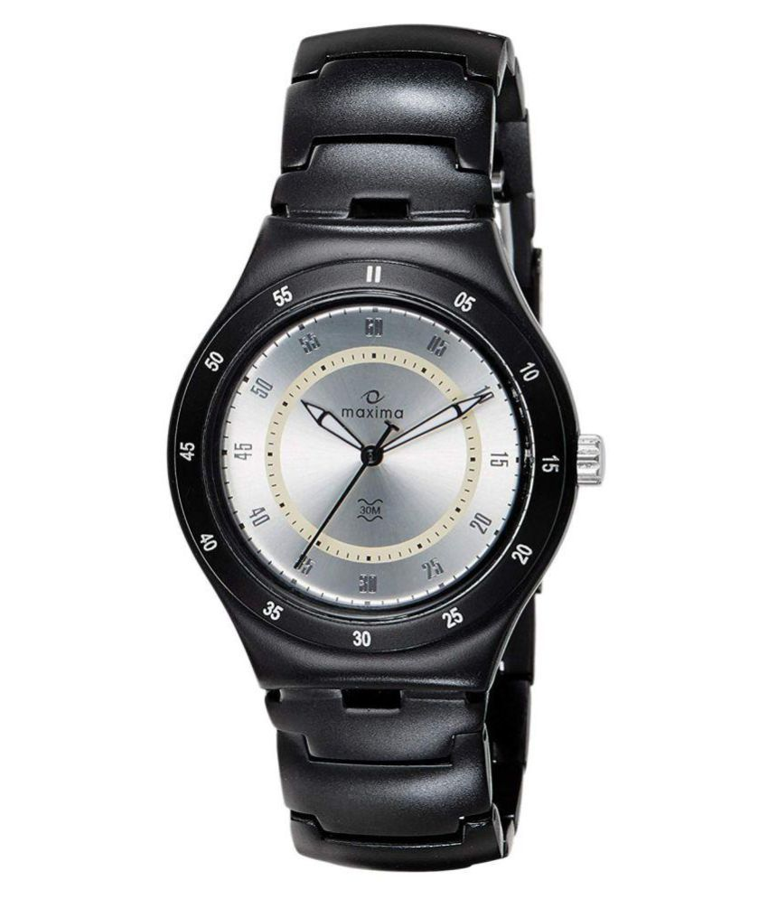 94f2e73a5 Maxima 23790CMGB Plastic Analog Men s Watch - Buy Maxima 23790CMGB Plastic  Analog Men s Watch Online at Best Prices in India on Snapdeal